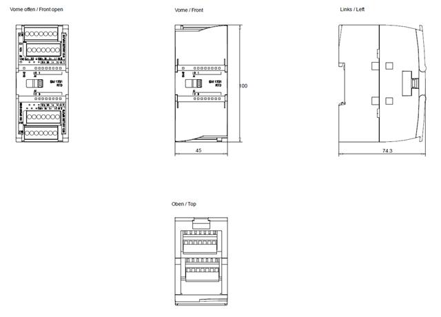 Siemens S71200 Mod U00dcl 6es7231